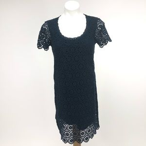 French Connection lace MIDI shift dress fancy